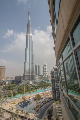 Burj & fountain view, LUX sleeps 4 - ドバイ
