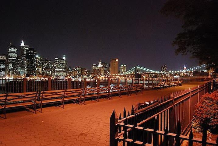 Private 2 Bed Suite in Stunning Brooklyn Heights.