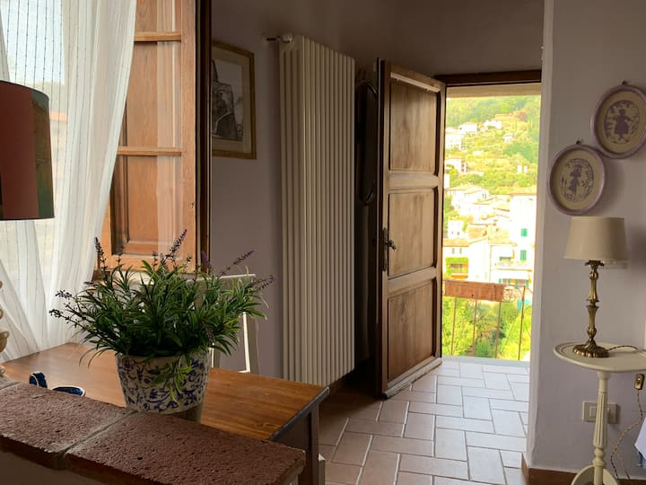 BARGA (Lucca) House with View in the Old Town