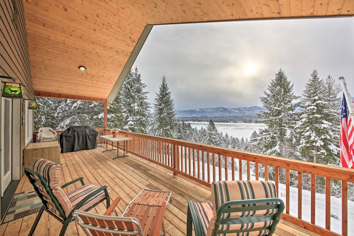 NEW! 'Three Bears Lodge' w/Mtn View on Waterfront!
