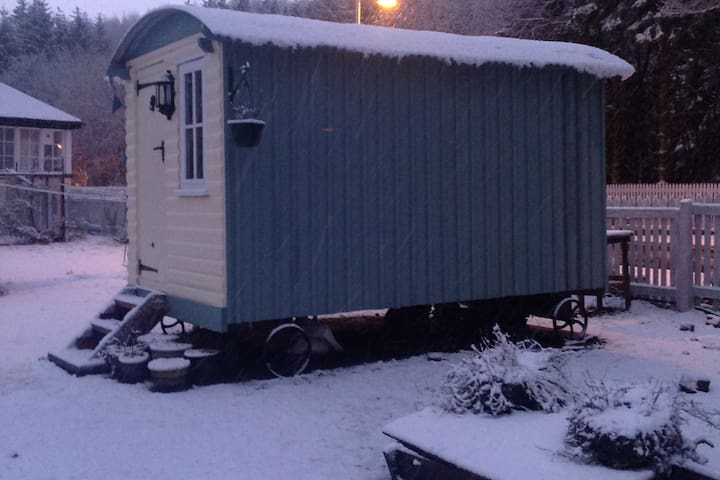 The Shepherds Hut, Dalmally Railway Station