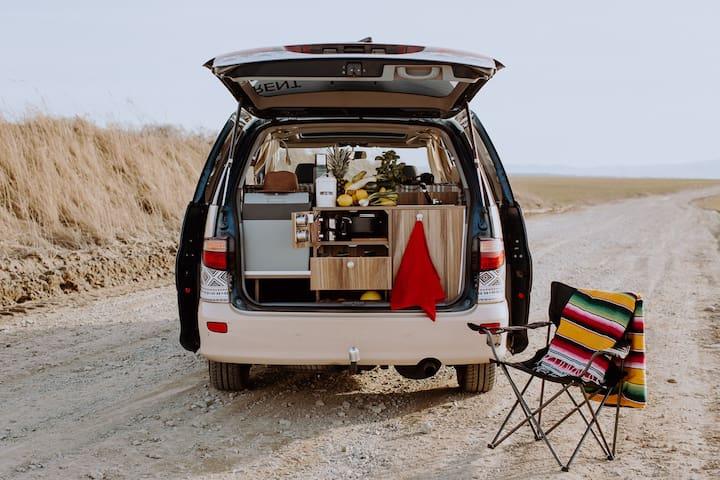 Campervan hire Malaga - SURFCAMPERS