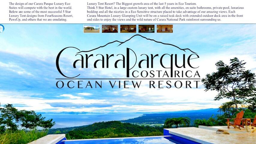 Ocean View Eco Resort - Carara - Bed & Breakfast