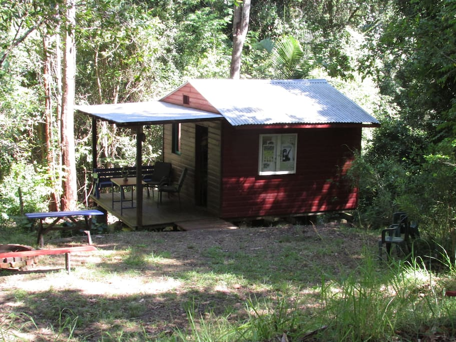 The `Ant Shack' has adjacent camping areas for your friends