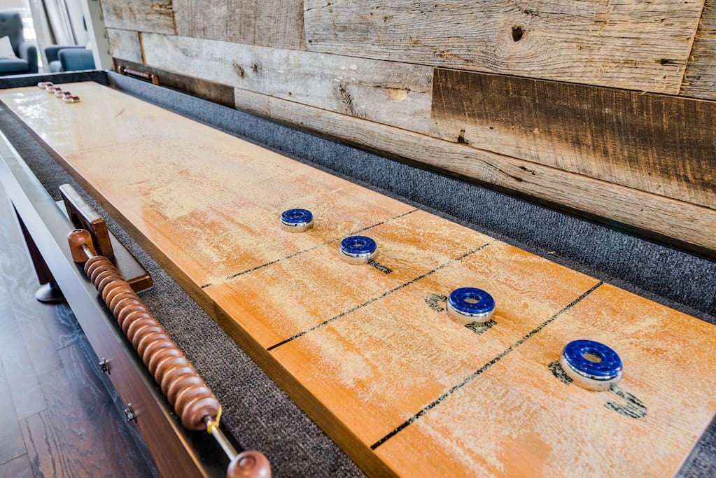 How about some shuffleboard?