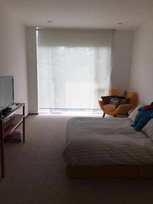 1 Big Bedroom with black out