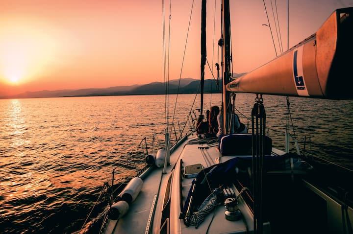 Bavaria 44 with skipper