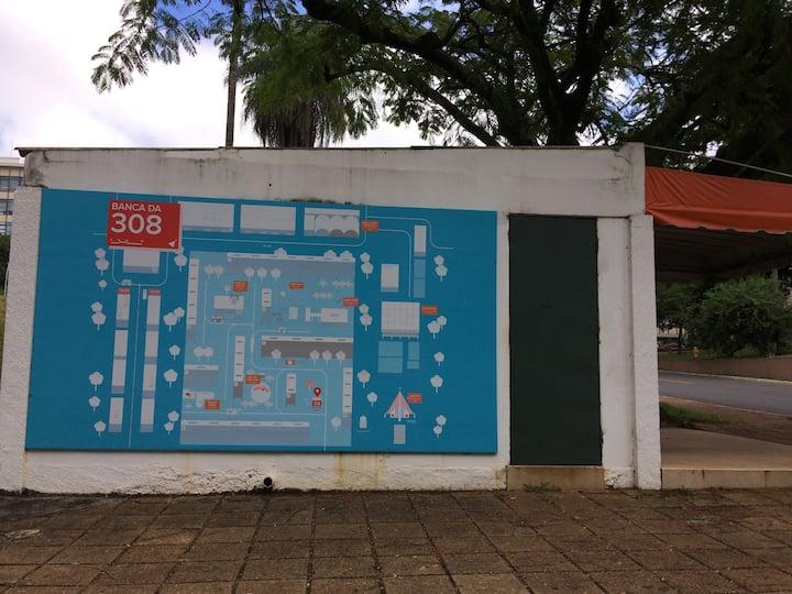 mapa da 308 sul na banca da Conceição
