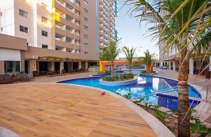 Olímpia Park Resort Apartamento ao lado do Parque