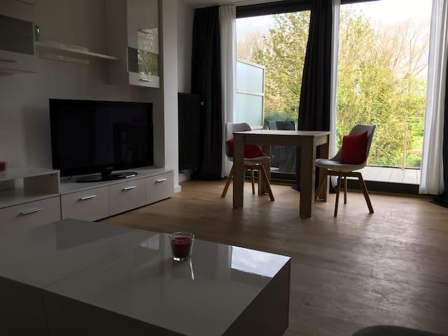 Luxe appartement met groot terras