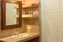 The Blue Villa Bathroom