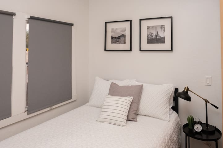 Second bedroom with full bed