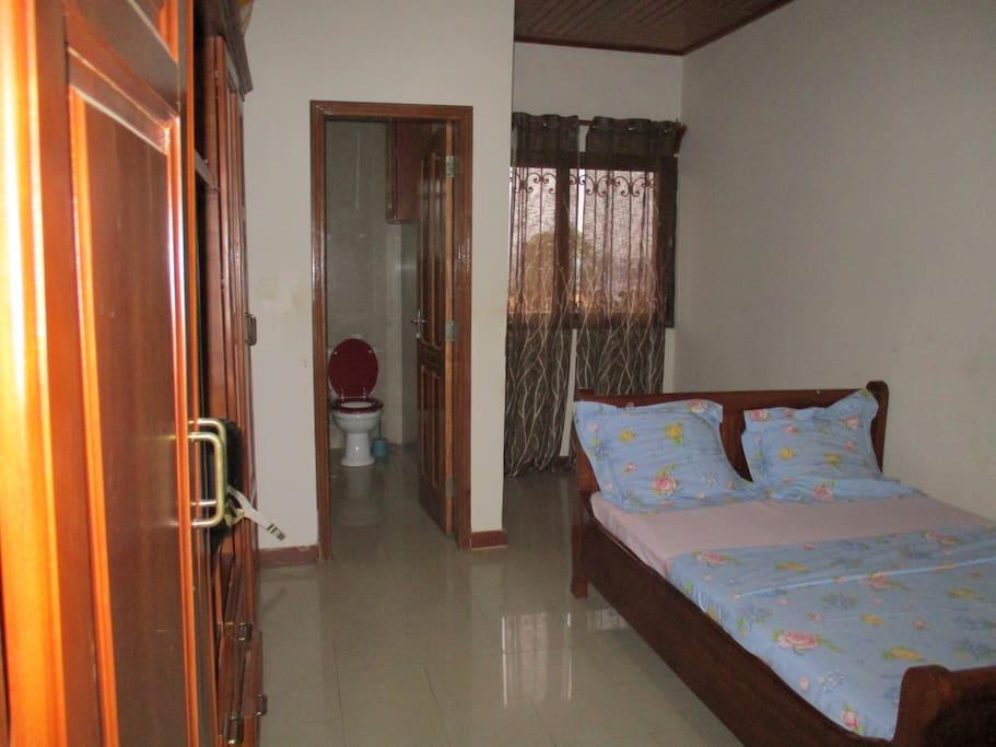 Closet space and bathroom (2)