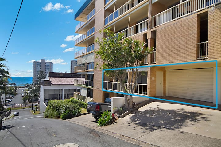 Woobera Unit 14 - On the hill overlooking Tweed Heads and Coolangatta