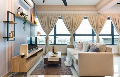 New! Contemporary 1BR Apartment near KLCC