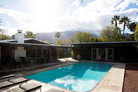 Earthy Modern 4 Bedroom with casita - Palm Springs - Casa
