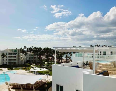 🐙 Beachroof. Beach & Golf residence pent-house.