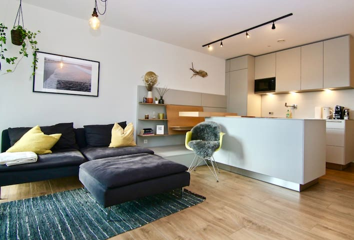Stylish & Comfy: Apartment by the Rhine River