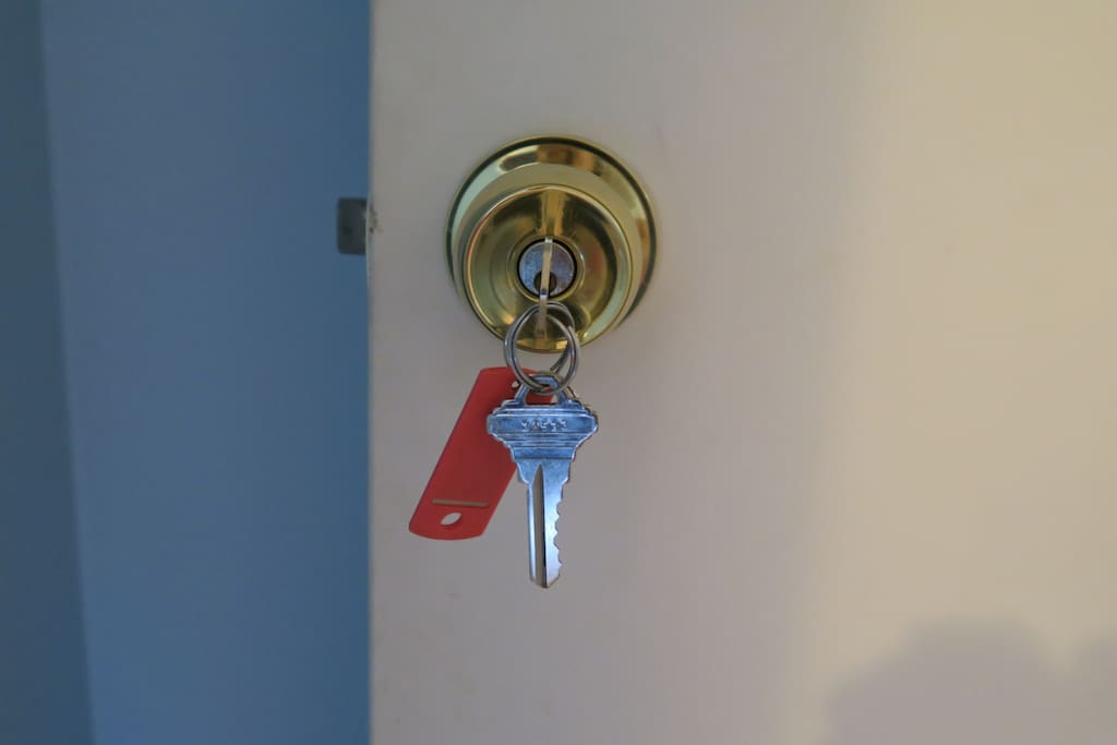 Your own house key and bedroom key.  Come and go as you please.