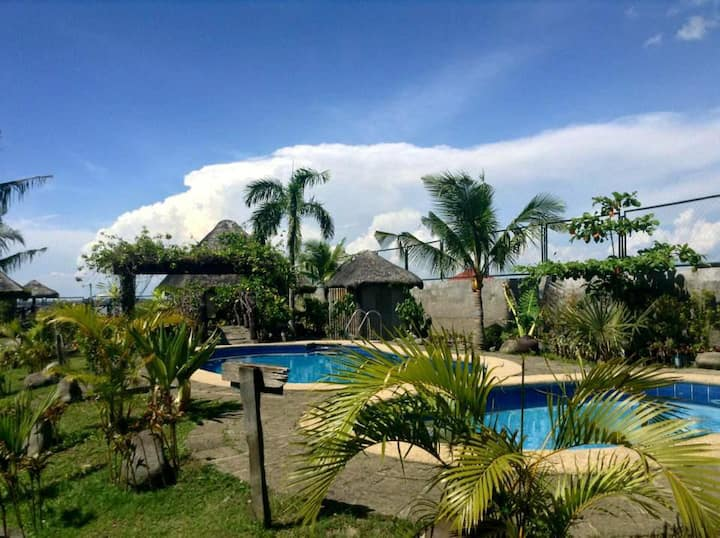 Los Banos Resort for 20-25 in 3 cottages