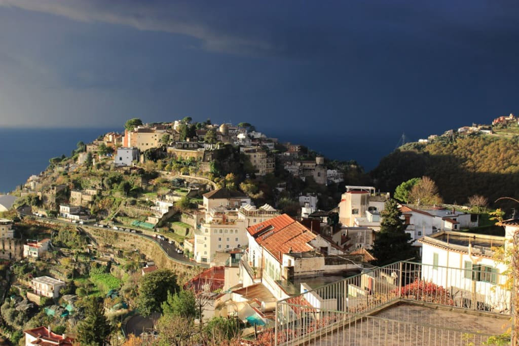 From Terrace looking to Ravello