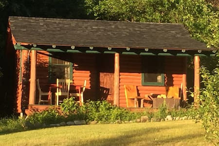 Authentic Adirondack Log Cabin w/ Ponies & Chicks - Wilmington