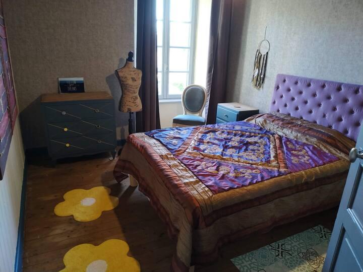2 Chambres cosy confortable au cœur d'un bourg