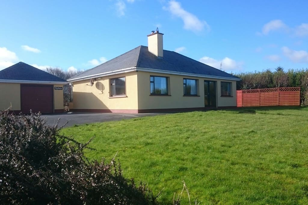 Detached bungalow with limited sea view, located 400m from Ballycastle Village
