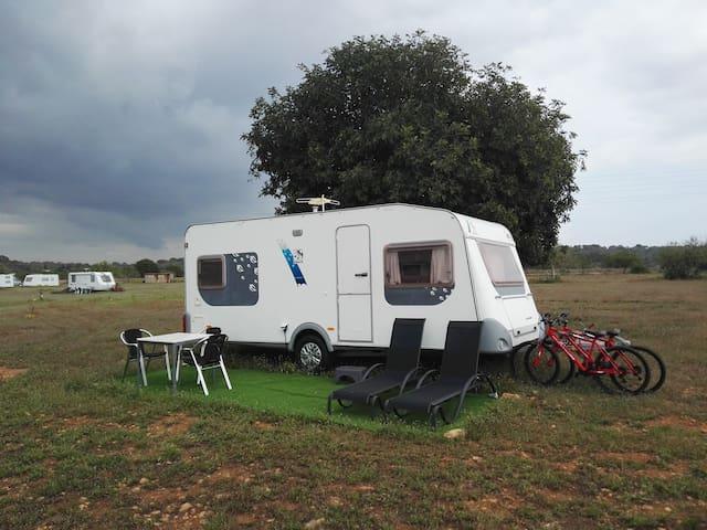 new experience in caravan
