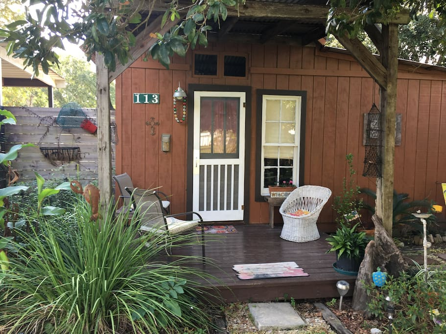 The Cajun Cabin Guest Cottage Cabins For Rent In