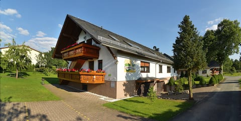 Ferienhaus in Drognitz, Fewo Ahorn