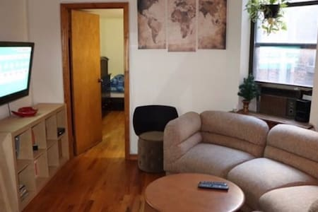 Have the 1st floor of a two floor duplex,