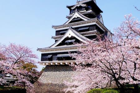 One Bedroom apt by Kumamoto Castle - Kumamoto-shi