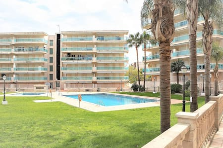Cerca Port Aventura/Playa/con Parking/Piscina/Wifi