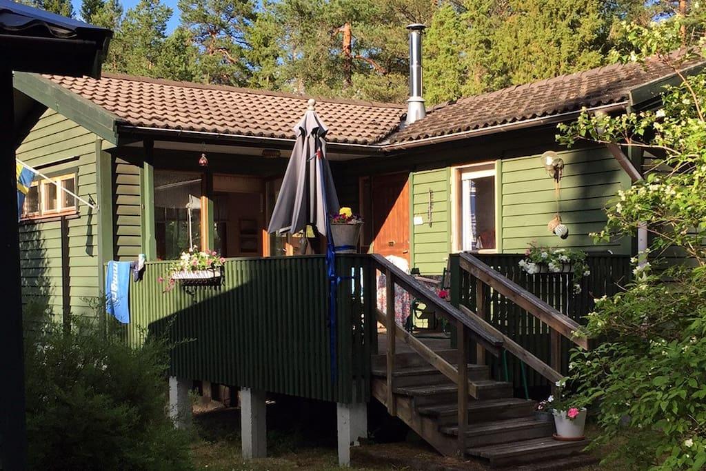 Mysig sommarstuga med sjutsikt nra regrund - Cottages