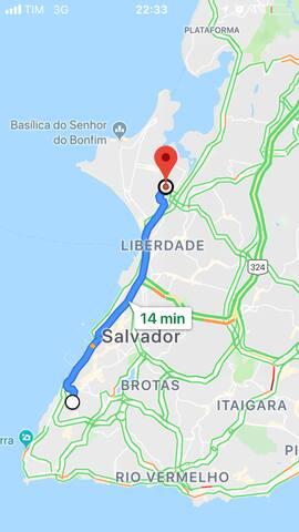 Cômodos em Salvador - Cidade Baixa