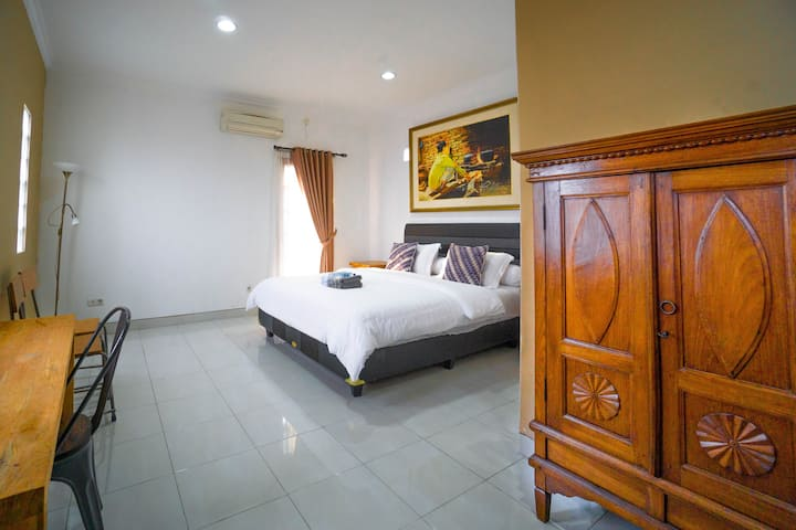 Authentic Room in The Heart of Yogyakarta