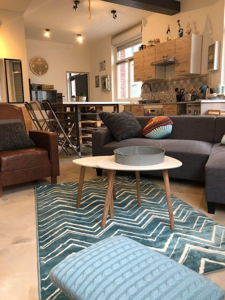 Appartement cosy hyper-centre 70m2
