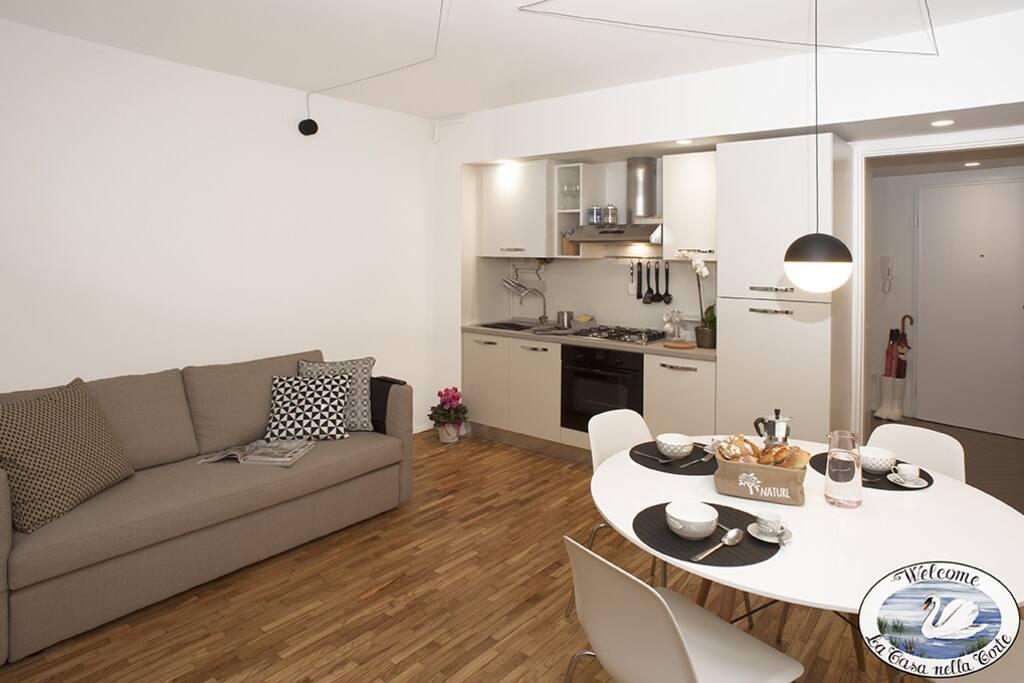 zona pranzo/cucina