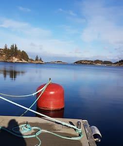 Austevoll Seahouse 2 km fra  Bekkjarvik sentrum