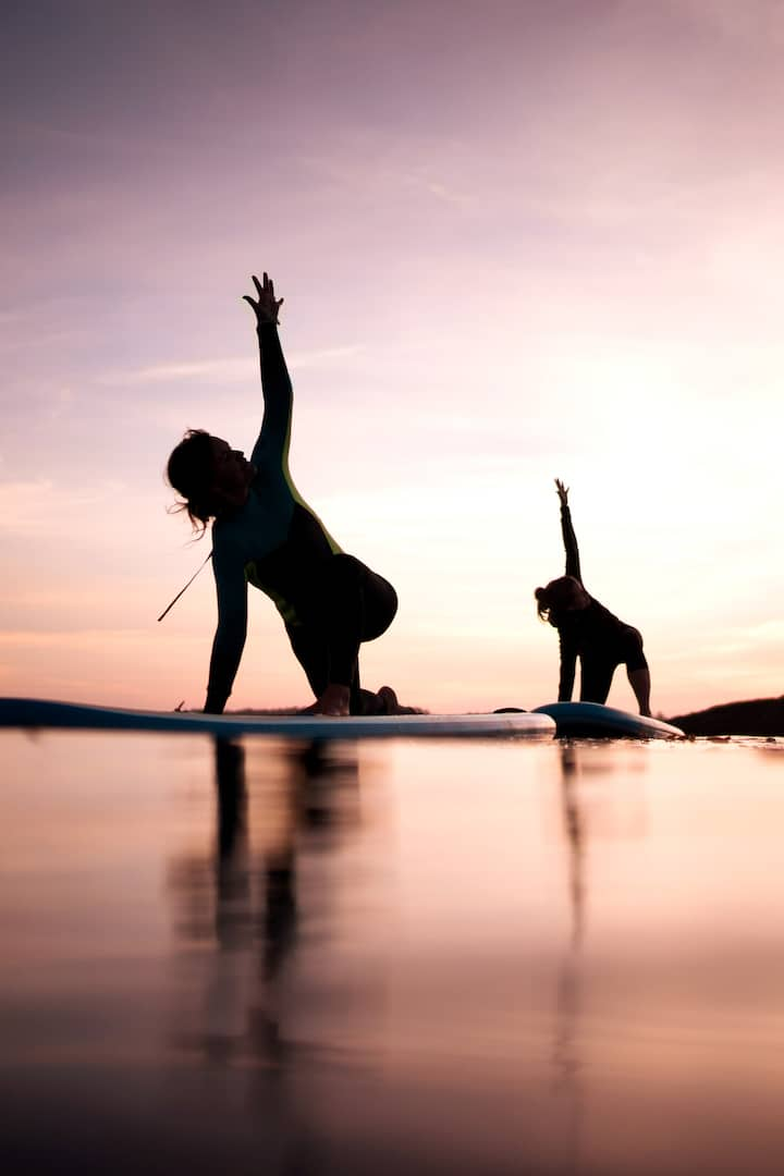 Tofino YogaPrivate SUP Yoga