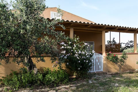 Holiday home by the sea in southern Sicily.