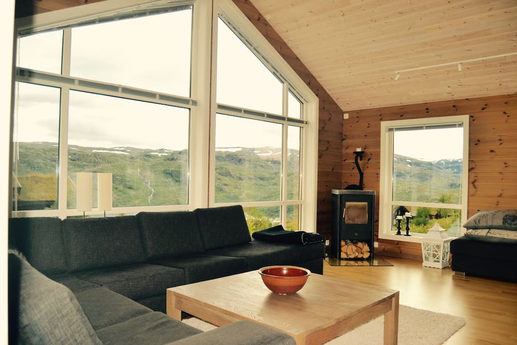 Spacious area with spectacular view