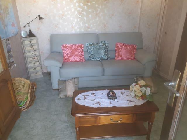 chambre dans un cadre de verdure