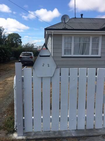 White Picket Fence - Martinborough