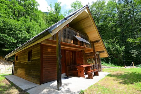 Mountain Chalet at Voje near Bohinj lake