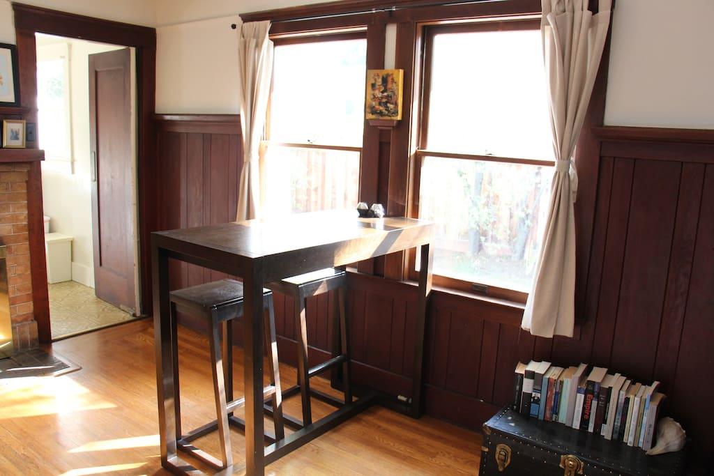 Sunny dining room