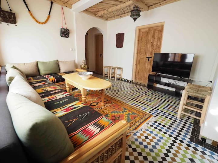2 Typical Traditional Moroccan House