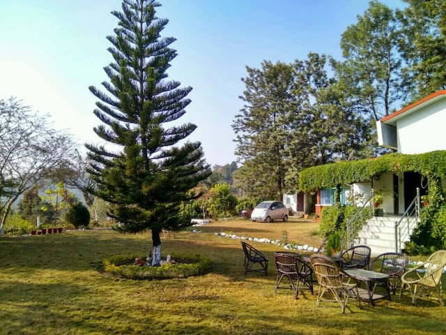 A bungalow Beside the River - Dehradun - Luontohotelli
