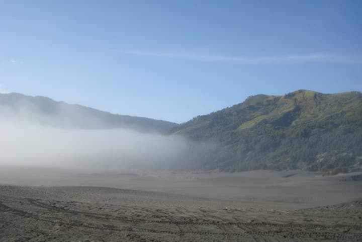 Comfort bedrooms near Mt. Bromo